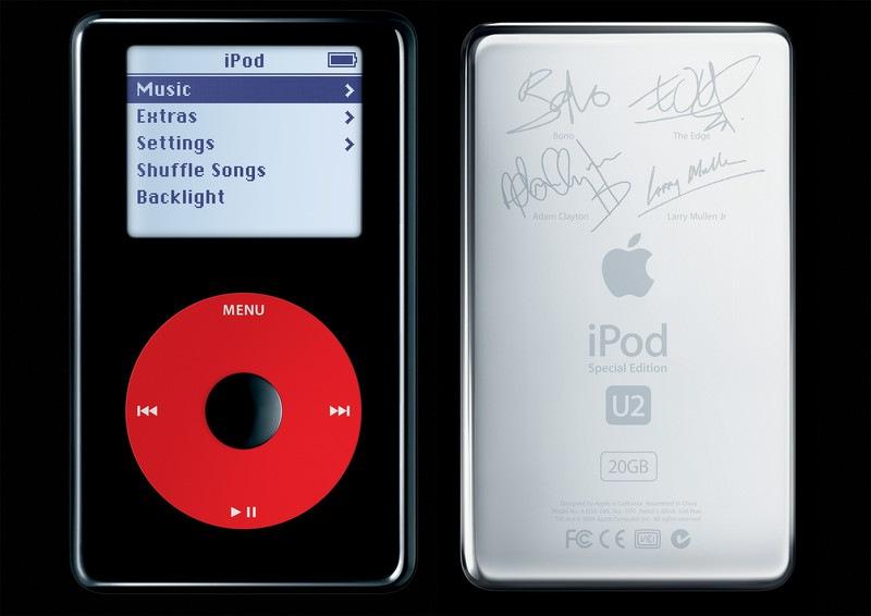 iPod U2 special edition zdroj iMore