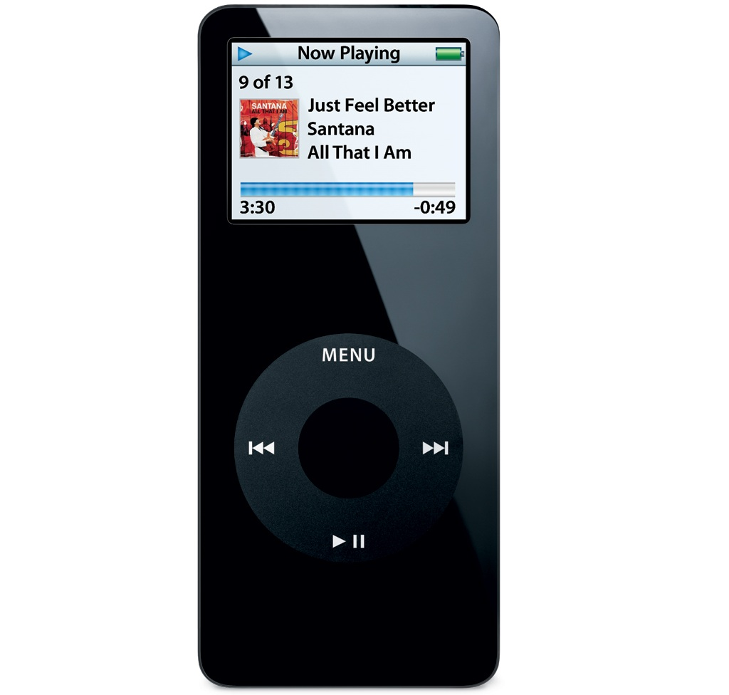 iPod nano black zdroj Mobile Venue