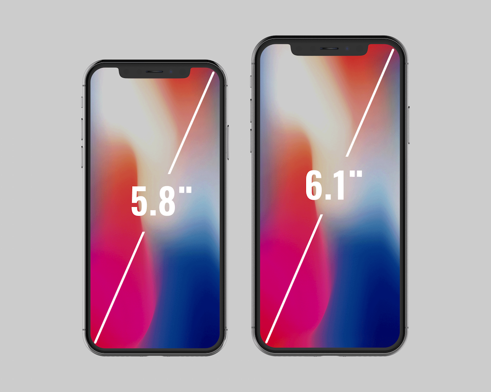 lcd iphone x 2
