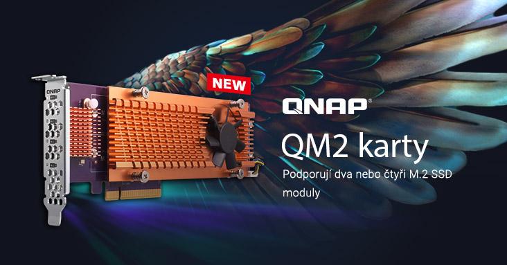 QNAP QM2 karty