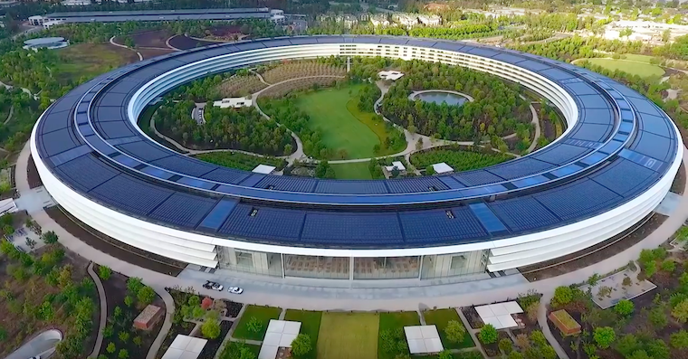 apple park kveten