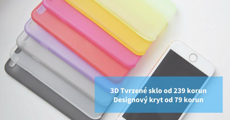 3D tvrzene sklo akryt na iPhone
