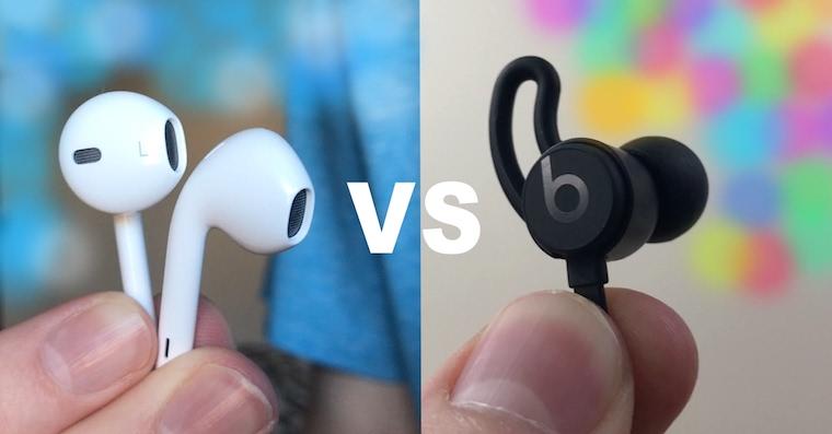 AirPods vs BeatsX FB