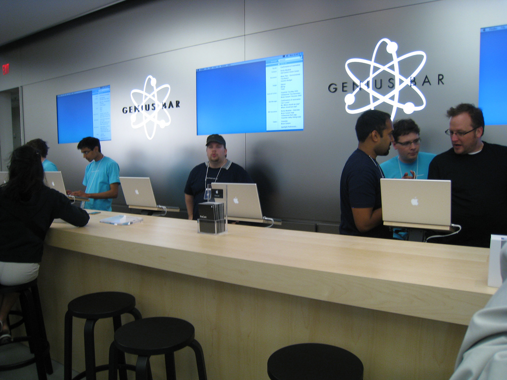 Genius Bar Flickr