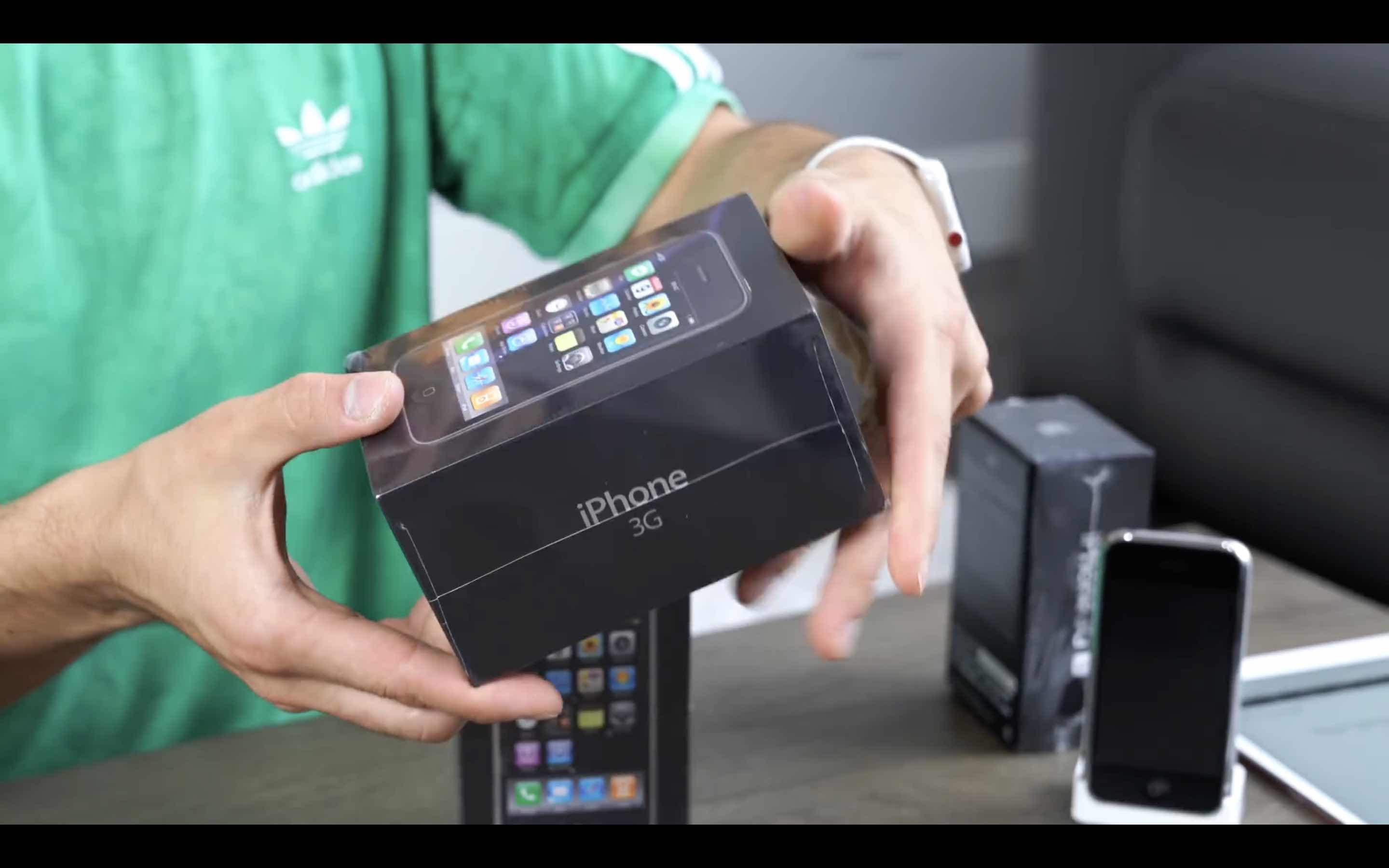 iPhone3G unboxing 1