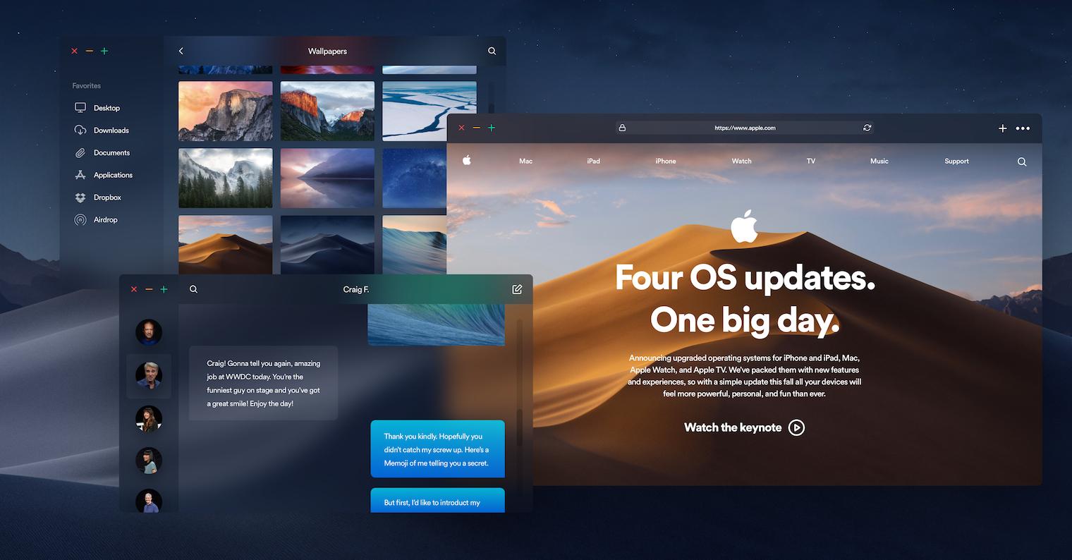 macOS Mojave concept FB