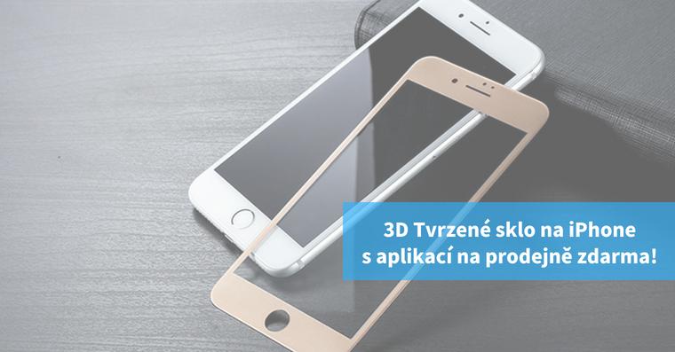 3D tvrzene sklo na iphone tvrzenysklo.cz