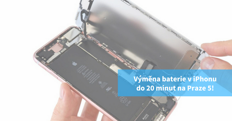 Vymena baterie viPhonu na pockani