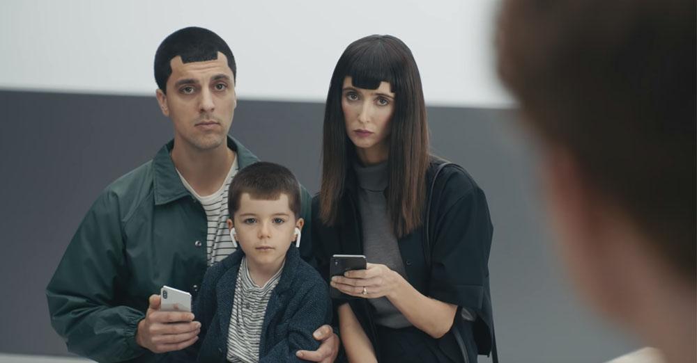 apple samsung reklama