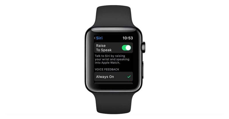 apple watch raise to speak 3