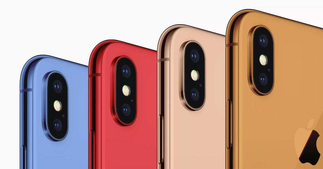iphone barvy
