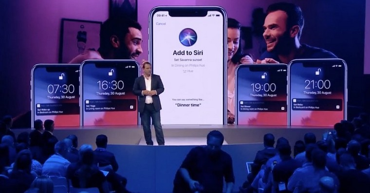 siri shortcuts philips fb