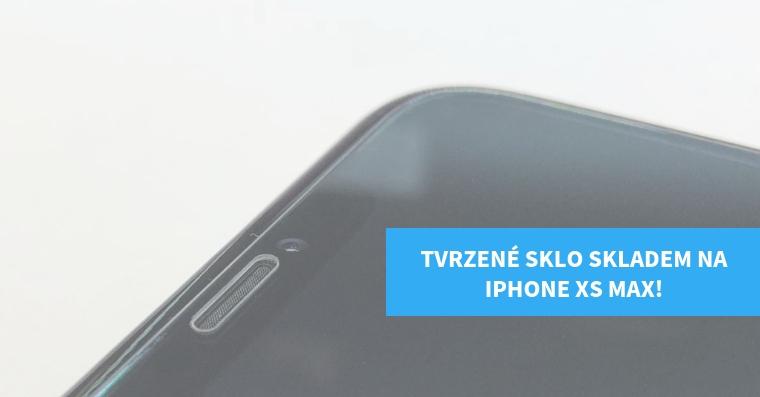 Tvrzene sklo iPhone XS MAX