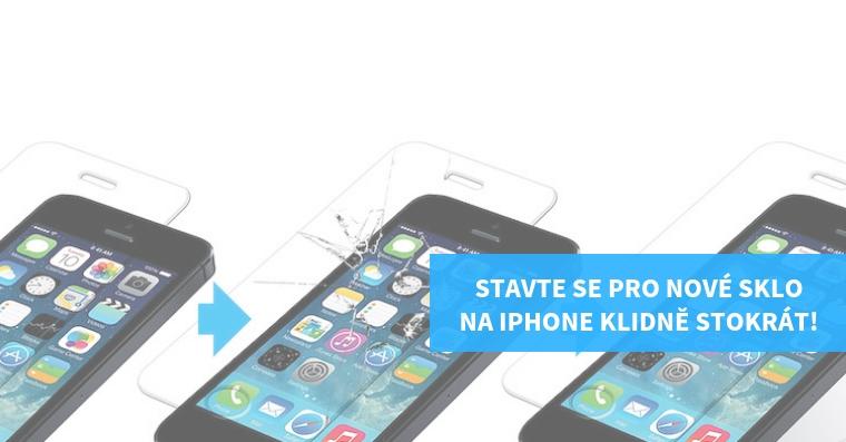 Tvrzene sklo na iPhone sdozivotni zarukou