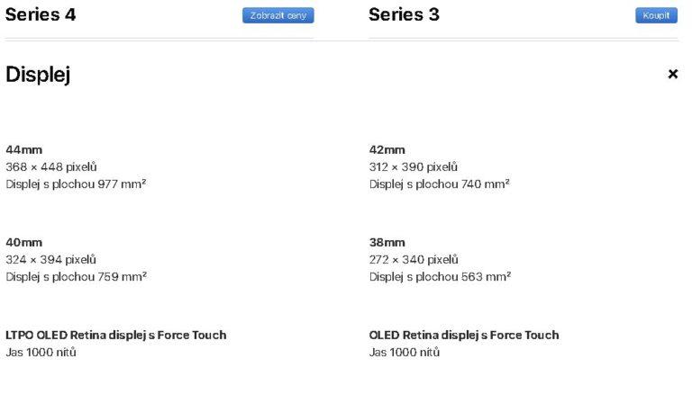 Apple Watch Series 3 vs. Series 4  Který model je pro vás ten pravý  2578e158afb