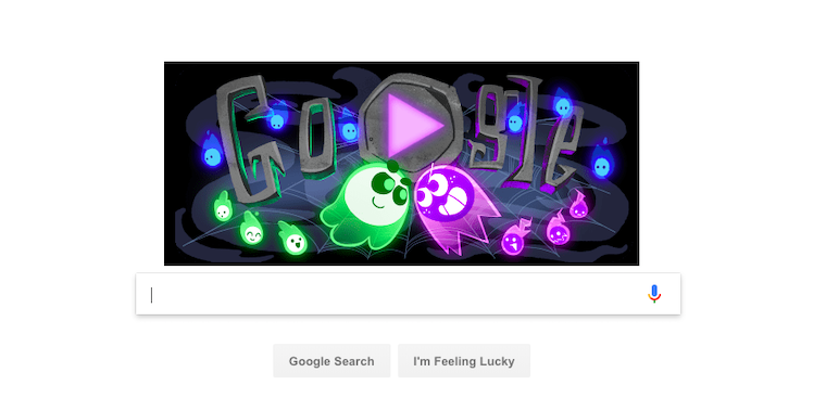 Google Halloween fb