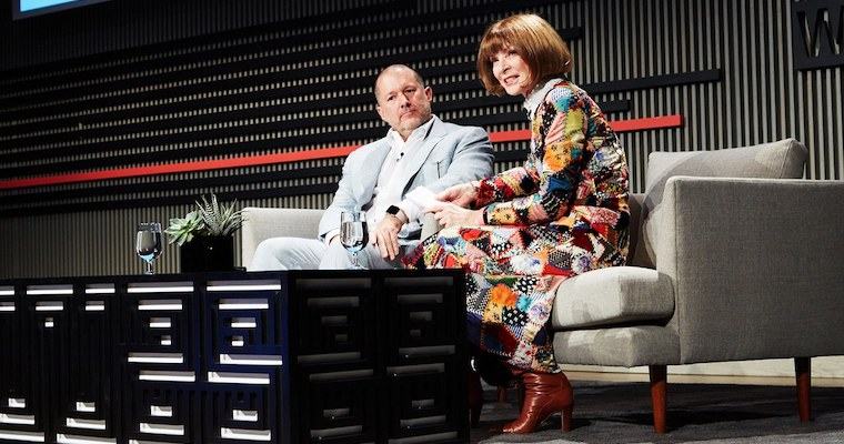 Jony Ive Anna Wintour fb