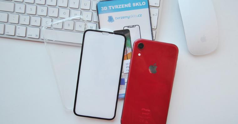 3D Tvrzené sklo pro iPhone XR