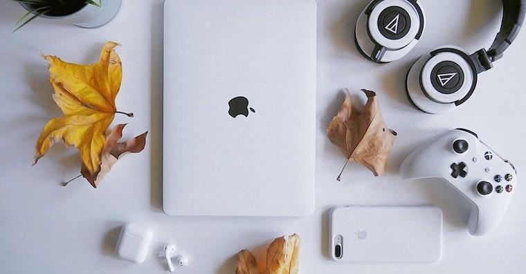 MacBook-Leaves