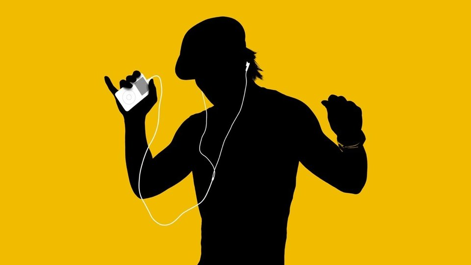 White Earbuds iPod Ad YouTube