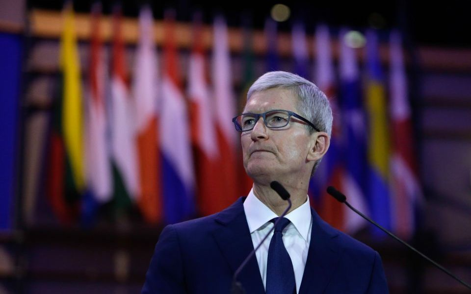 belgium-european-parliament-tim-cook