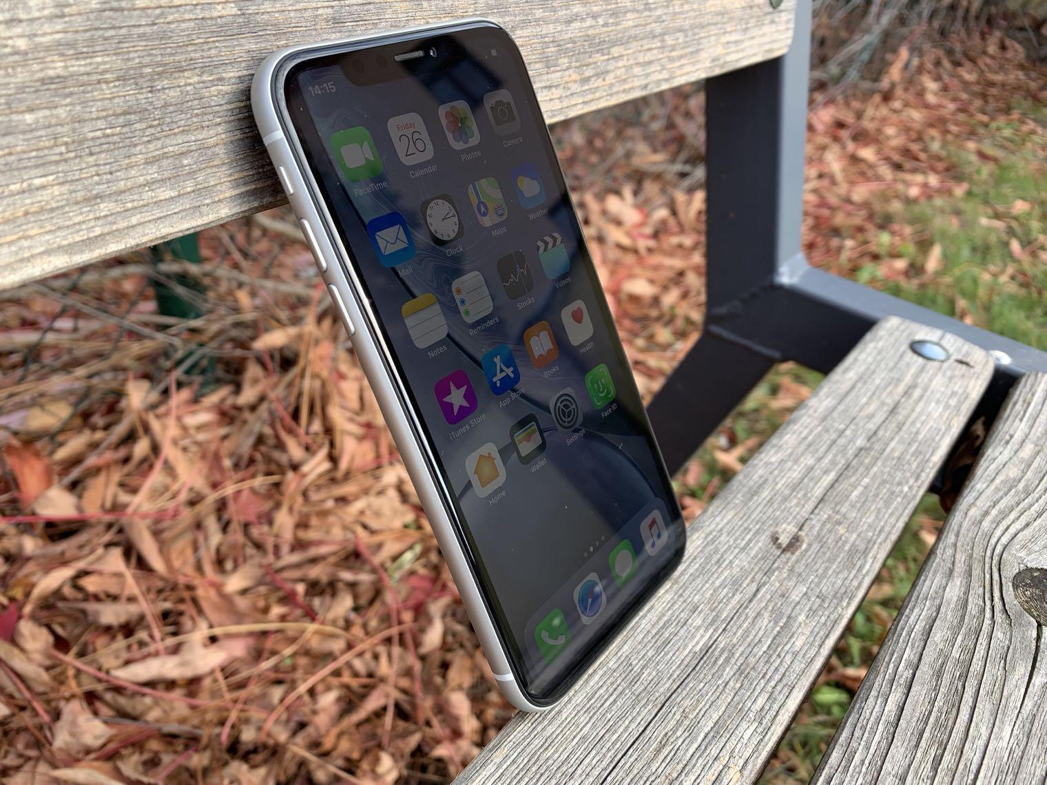iPhone XR displej lsa 3