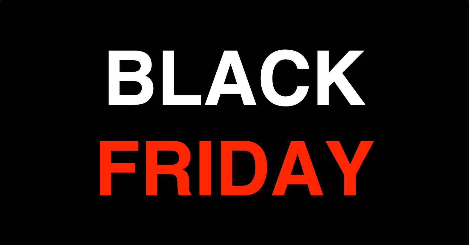 Black Friday cerny patek