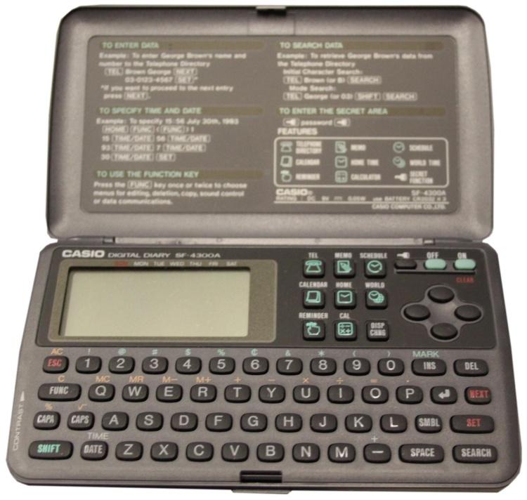 Casio Digital Diary 1