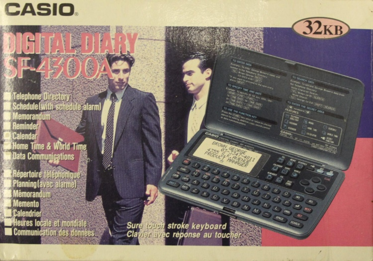 Casio Digital Diary 2