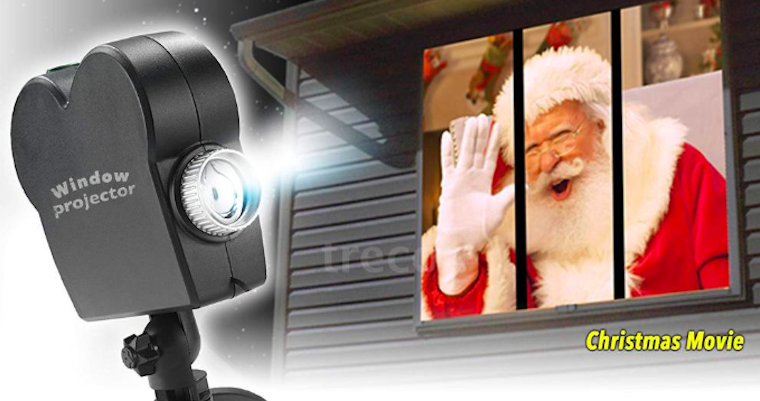 Christmas projector fb