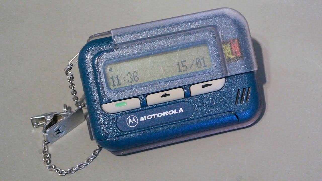 Motorola pager 1