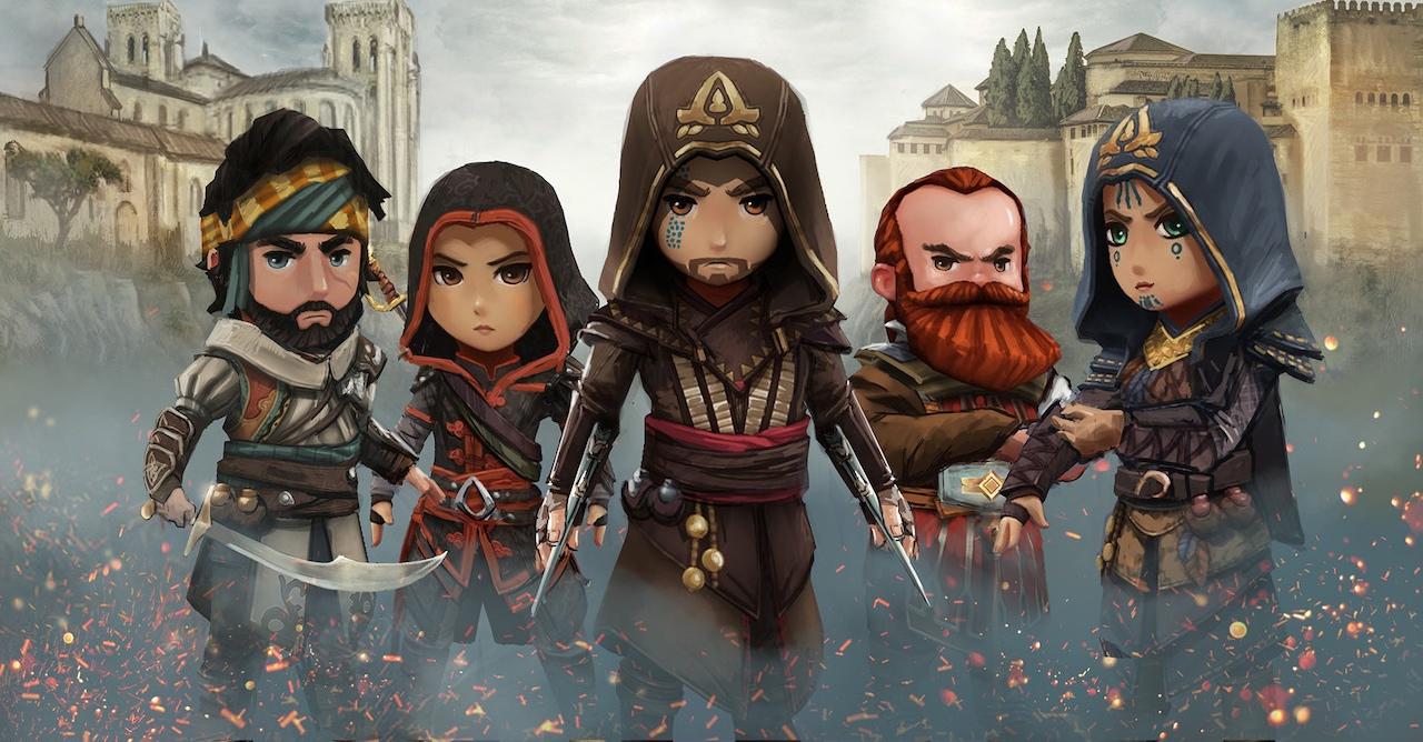 Zahráli jsme si Assassin's Creed Rebellion. Jak dopadlo nové zpracování známé herní série na iPhonu?