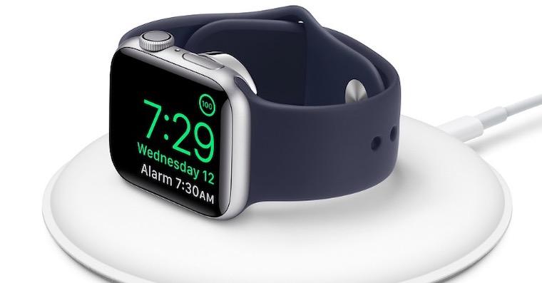 dock apple watch