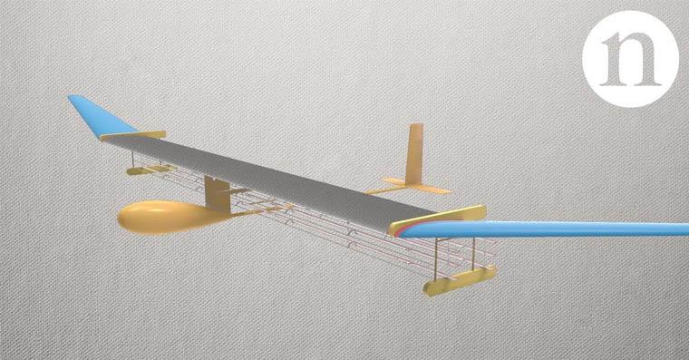 iontový dron fb