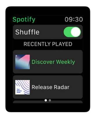 spotify watch 3