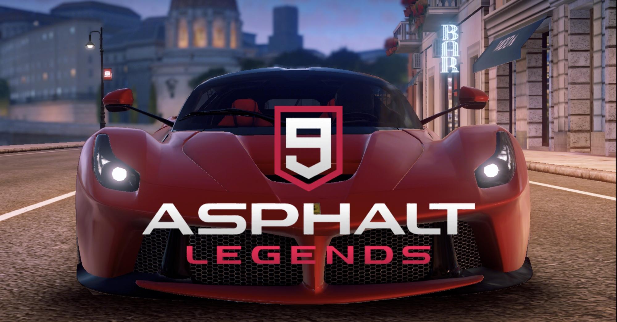 Asphalt 9: Legends přináší vnovém updatu hraní při 60fps ihromadu dalších novinek