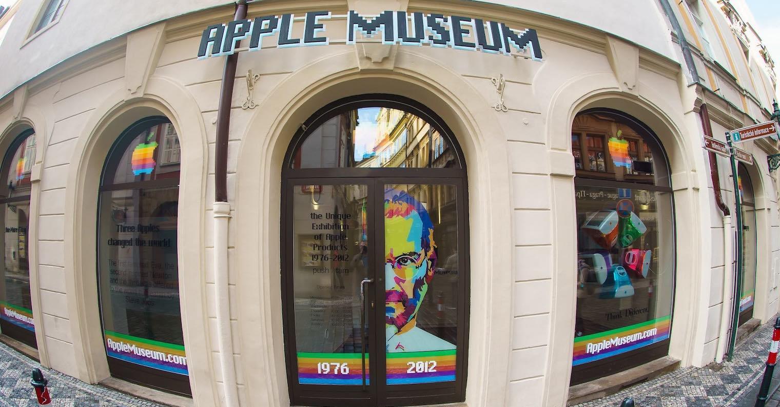 Apple Museum Praha 1