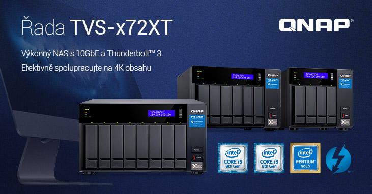 QNAP NAS TVS-x72XT