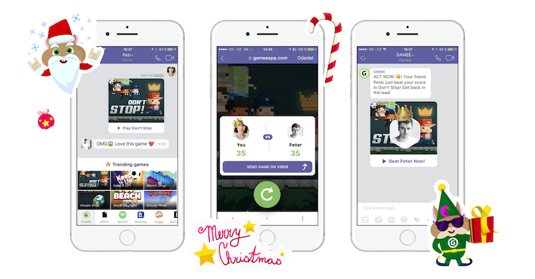 Viber gamee fb
