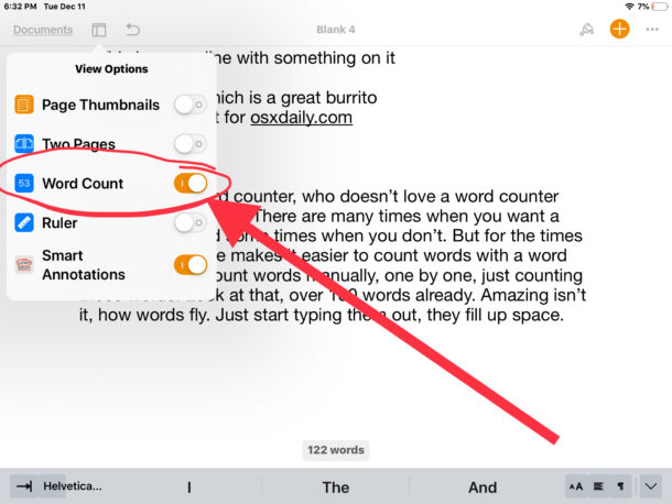 howto-enable-word-counter-pages-ipad-1-610×458