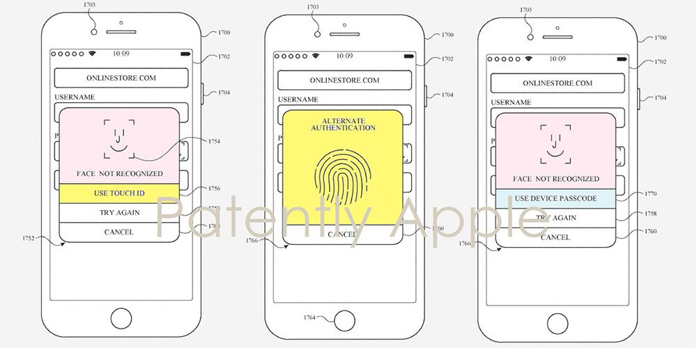kombinace-face-id-a-touch-id-patent
