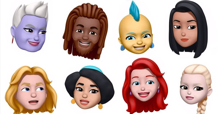 memoji disney fb