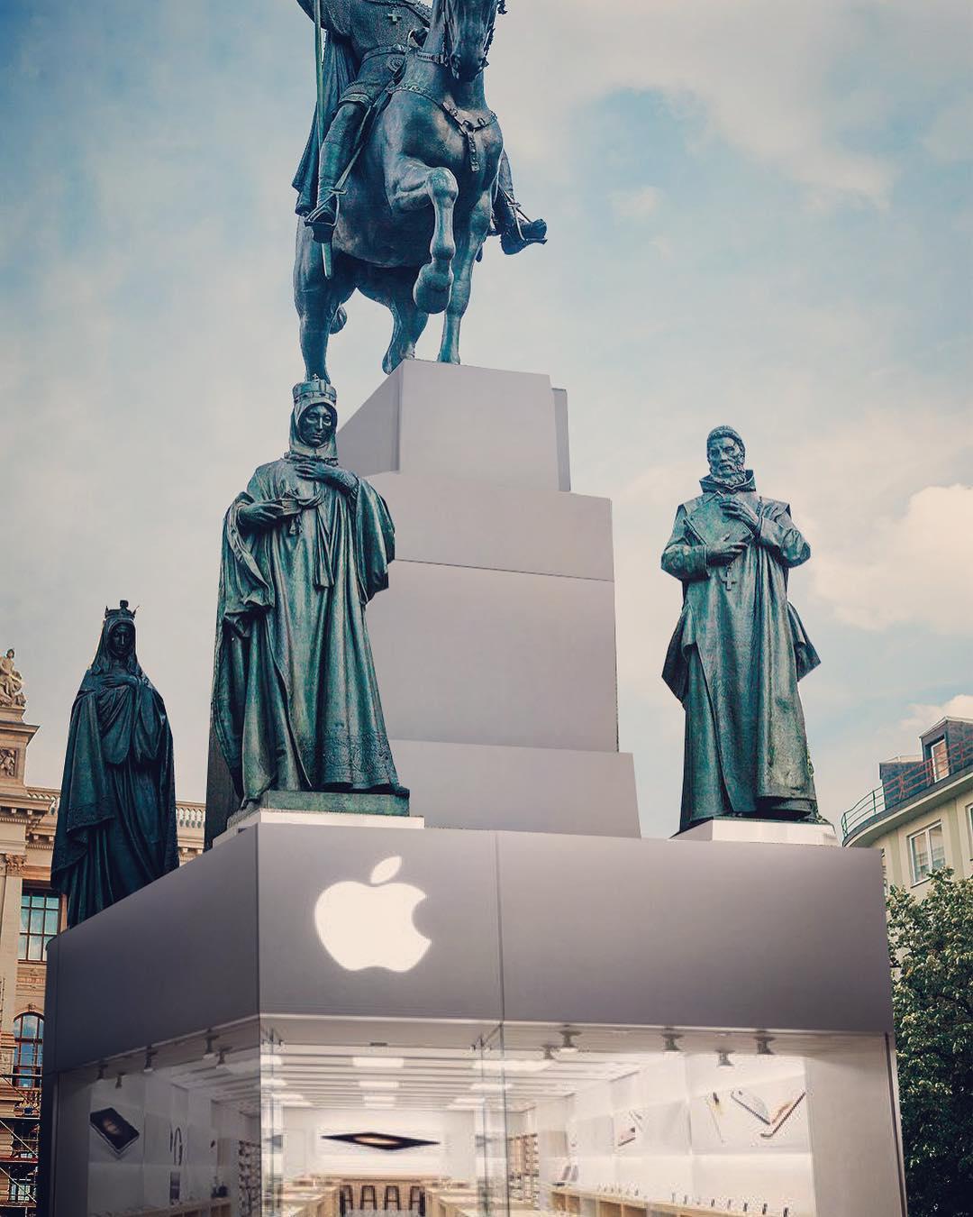 Apple Store Vaclav