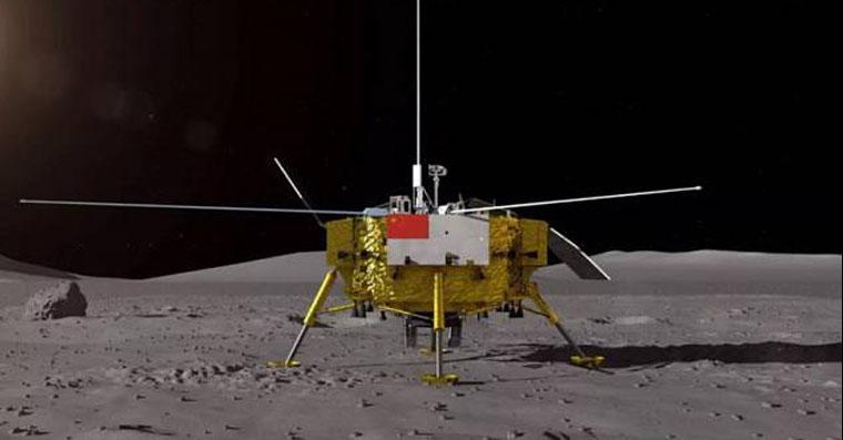 sonda čchang měsíc fb