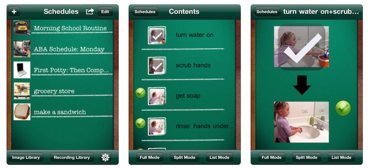 First Then Visual Schedule Screenshot
