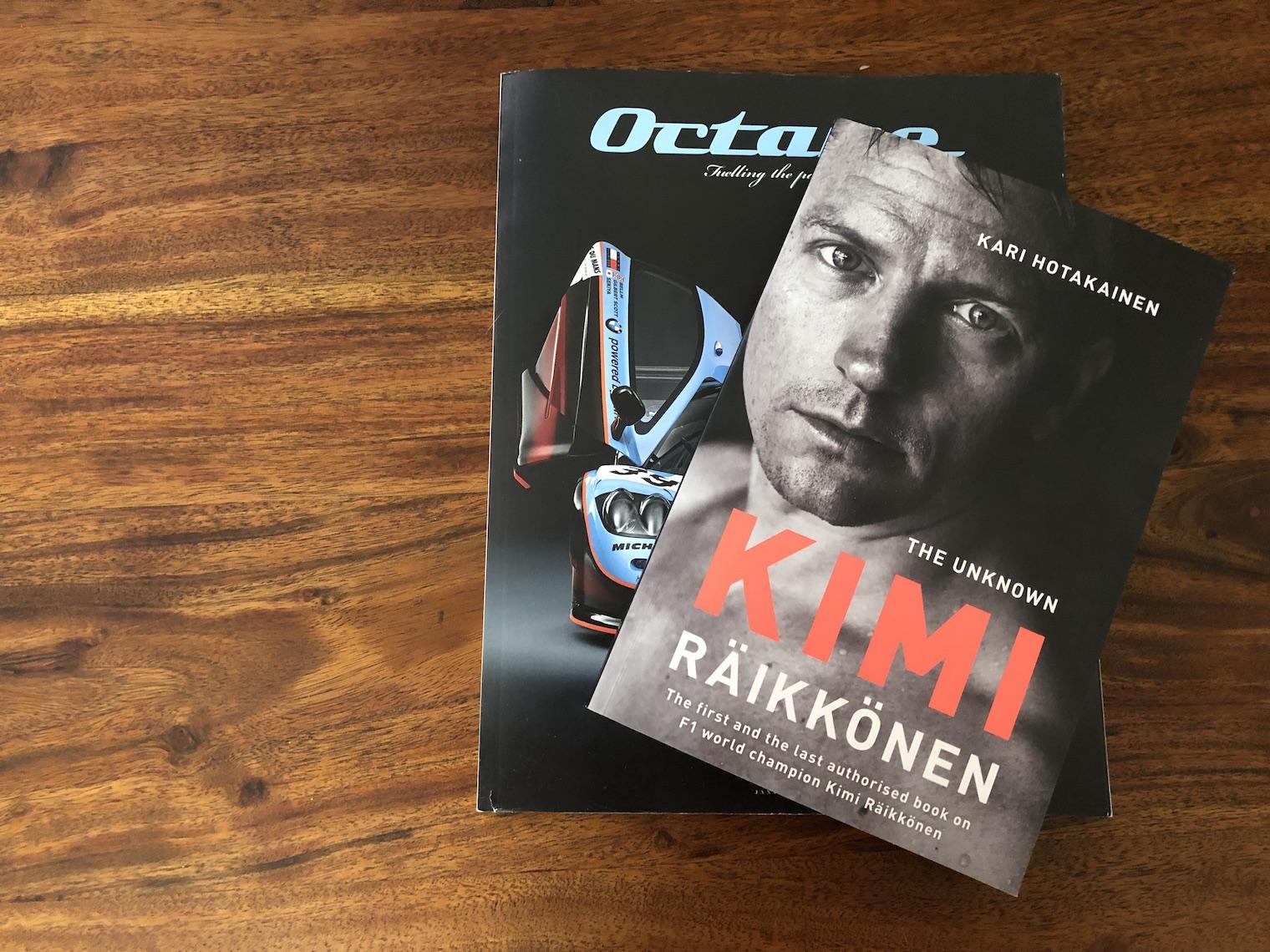 Kimi Raikkonen book