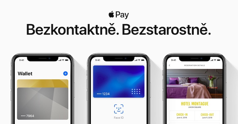 apple pay cesko
