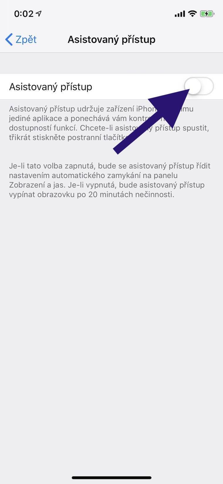 Jak při půjčení iPhonu zablokovat kamarádům přístup do jiné aplikace ddf41e2d45