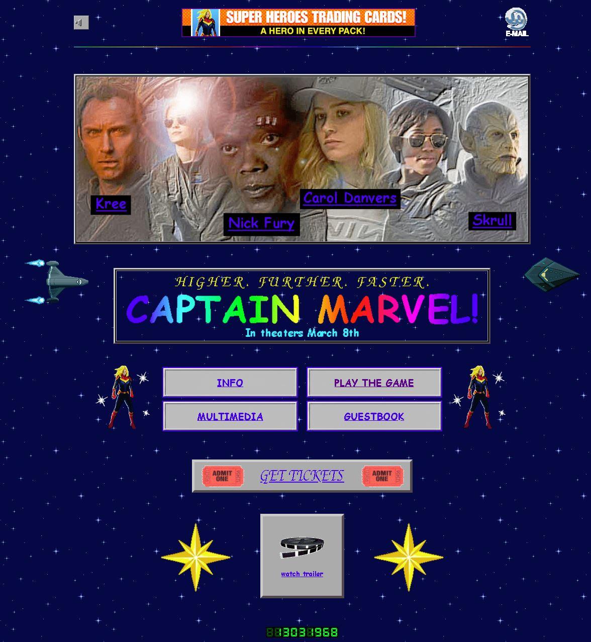 marvel retro web 1