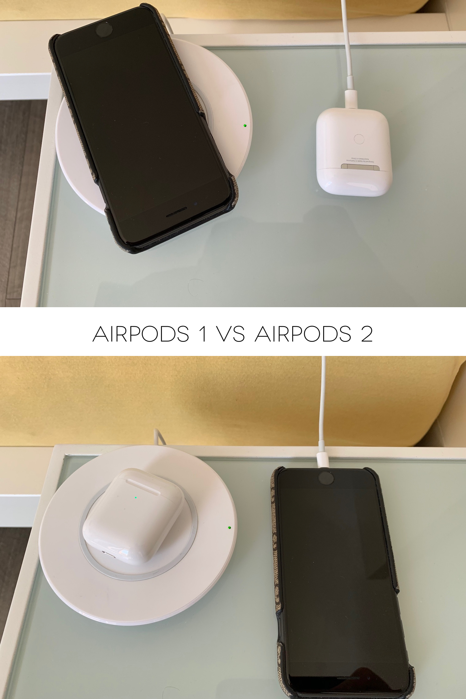AirPods 1 vs. AirPods 2